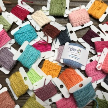 ColourSpun Pure Cotton #5 Embroidery Thread - 100% cotton, hand dyed in over 360 colours.