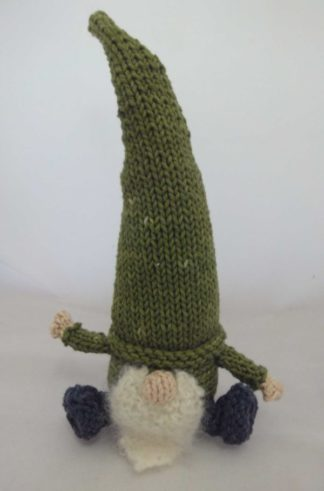 ColourSpun Knit Small Gnome Kit - a kit containing all the materials you need plus free instructions to knit a small Gnome