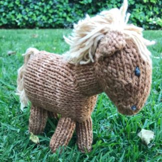 ColourSpun Horse Kit - a kit containing all the materials you need plus free instructions to knit a horse