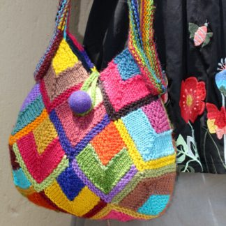 ColourSpun Modular Diamonds Bag Knit Kit