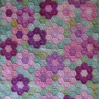 ColourSpun Summer Garden Blanket Kit