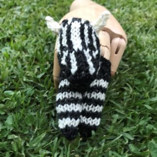 ColourSpun Zebra Finger Puppet Kit