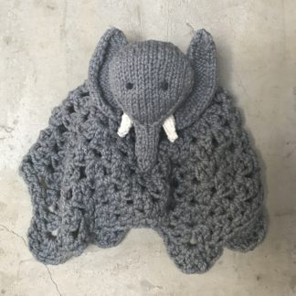 ColourSpun Elephant Buddy Blankie Kit