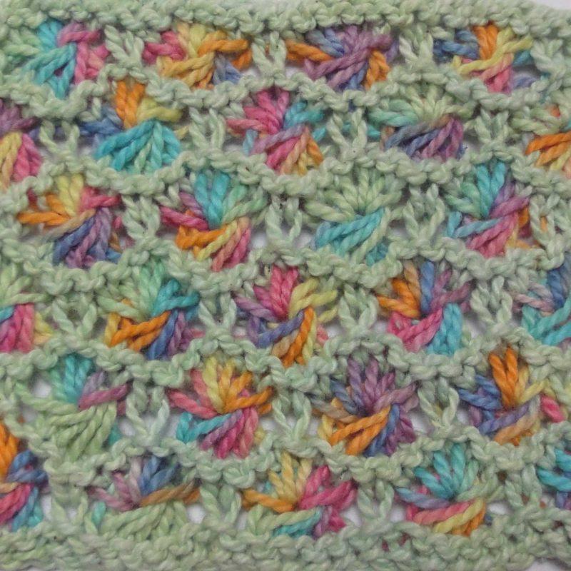 ColourSpun in Stitches - Knit Aster Stitch