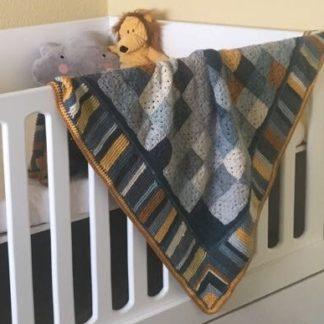 Little Lemon Blanket - Large cot or knee rug