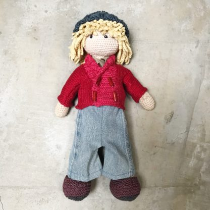 Crochet Doll Kit - Luthor