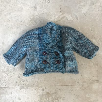Double Breasted Doll Cardigan kit