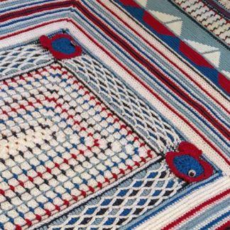 The Neave Collection's Nautical Throw