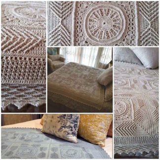 The Neave Collection's Dearly Beloved Crochet Blanket Collage