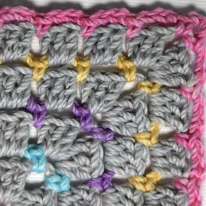 Butterfly Kisses Blanket closeup