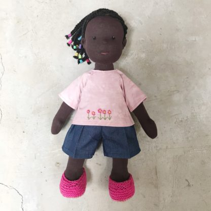 Stitched doll - dressed