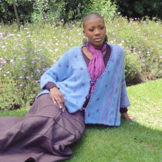 African Violets Cardigan