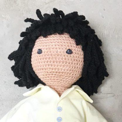 Crochet hair kit for dolls