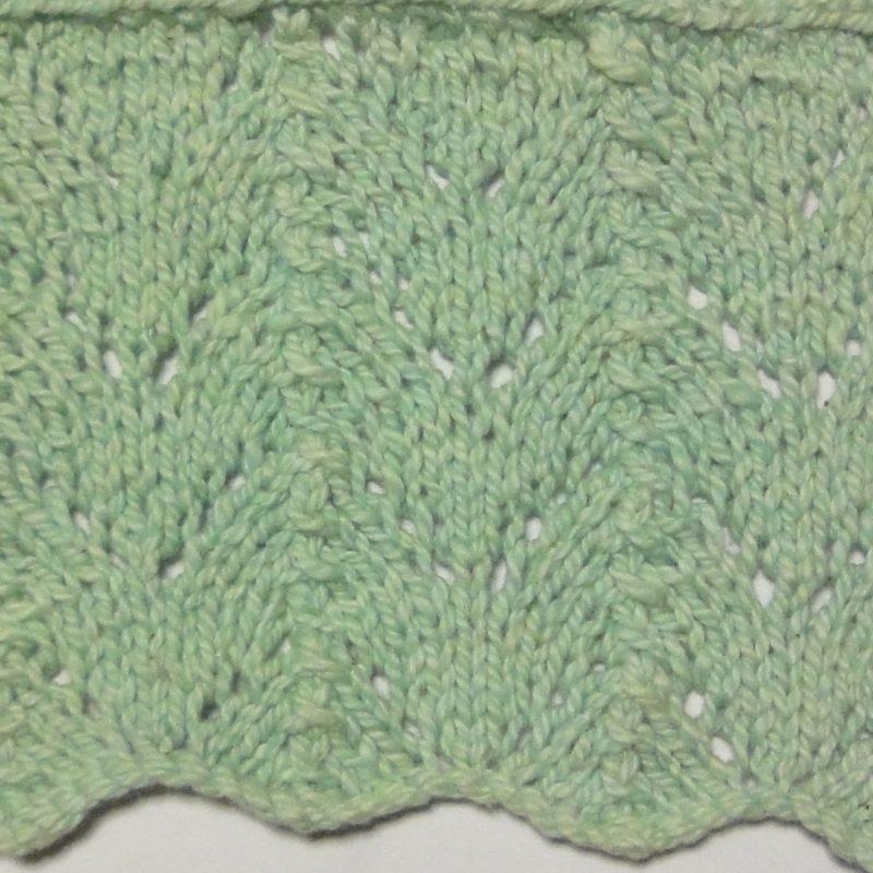 Fishtail lace