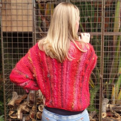 Textured Pullover back