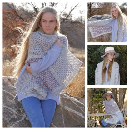 The Neave Collection Winter Solstice Shawl