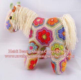 Heidi Bears Fatty Lumpkin the Brave African Flower Pony