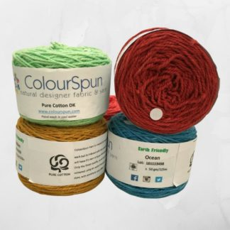 ColourSpun Pure Cotton DK yarn