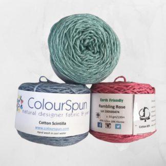 ColourSpun Cotton Scintilla yarn