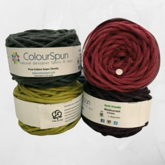 ColourSpun Pure Cotton Super Chunky yarn