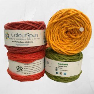 ColourSpun Pure Cotton Super Soft Chunky yarn