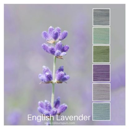 English Lavender flowers inspired this colourstack of 6 colours called English Lavender