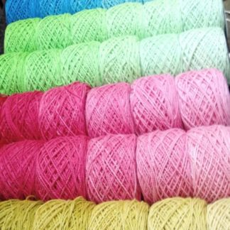 ColourSpun Pure Cotton Ombre Stacks - 6 cakes in shades of a colour from light to dark.