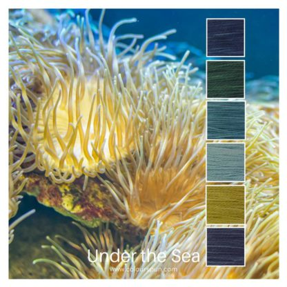 Under the Sea is a Colour Stack of 6 colours inspired by a coral reef